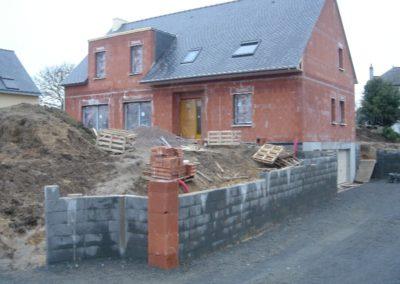Maçonnerie briques