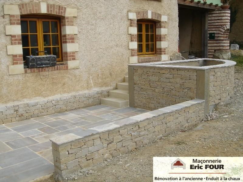 Maison pierre seche elegant maison en pierre sche piana - Maison en pierre seche ...