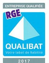 Entreprise qualifiée RGE QUALIBAT 2017