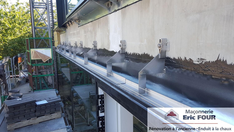 SCI Dedale Lorient - Fixation en inox