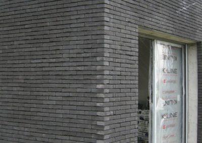 Maçonnerie Joints vifs - brique moulée main