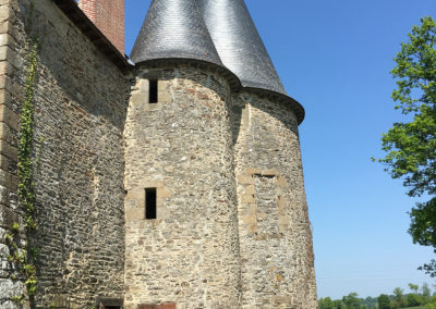 REALISATION FOUR MACONNERIE Manoir du Bertry TOURELLE ORIGINE
